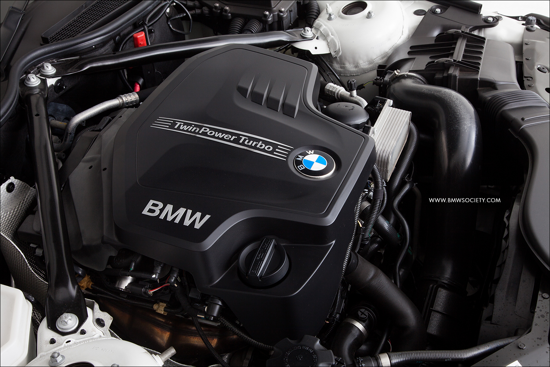 Custom White Engine Cover