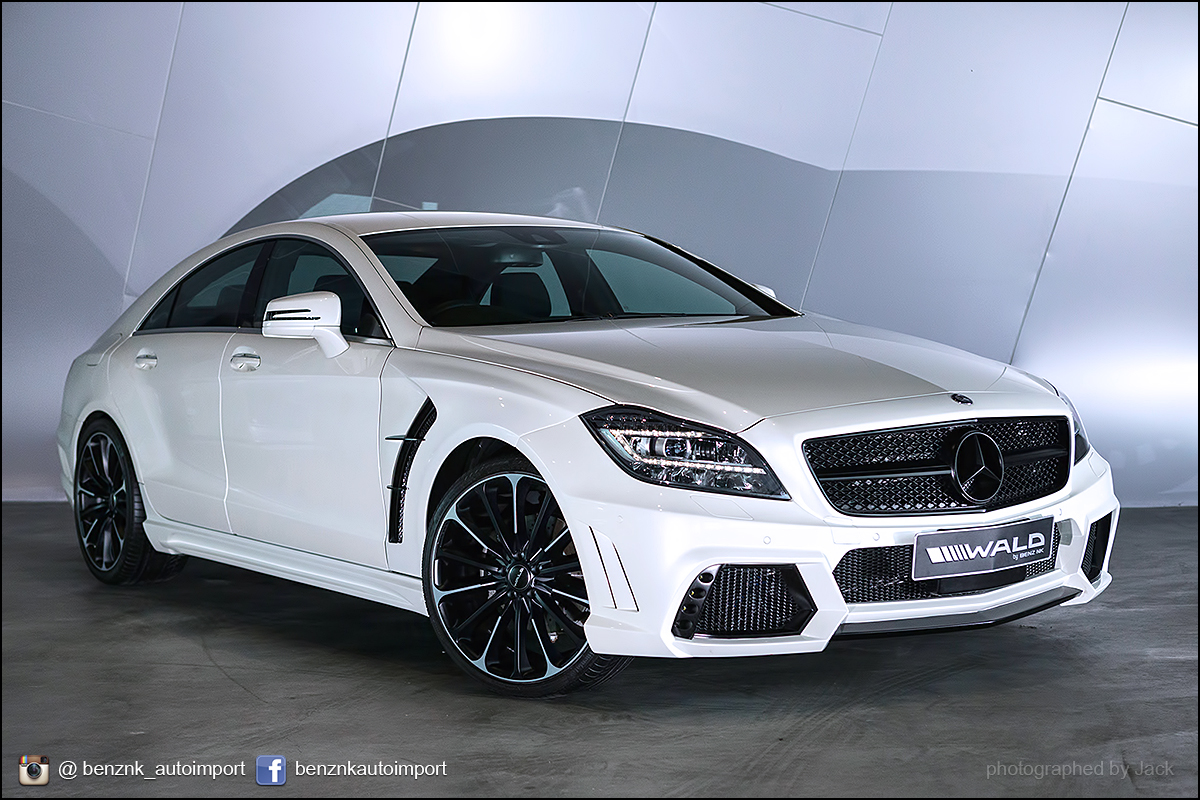 cls wald white limited edition cla piecha gtr by benz nk. Black Bedroom Furniture Sets. Home Design Ideas